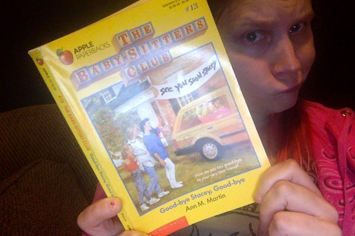 Baby-Sitters Club #13: Good-bye Stacey, Good-bye
