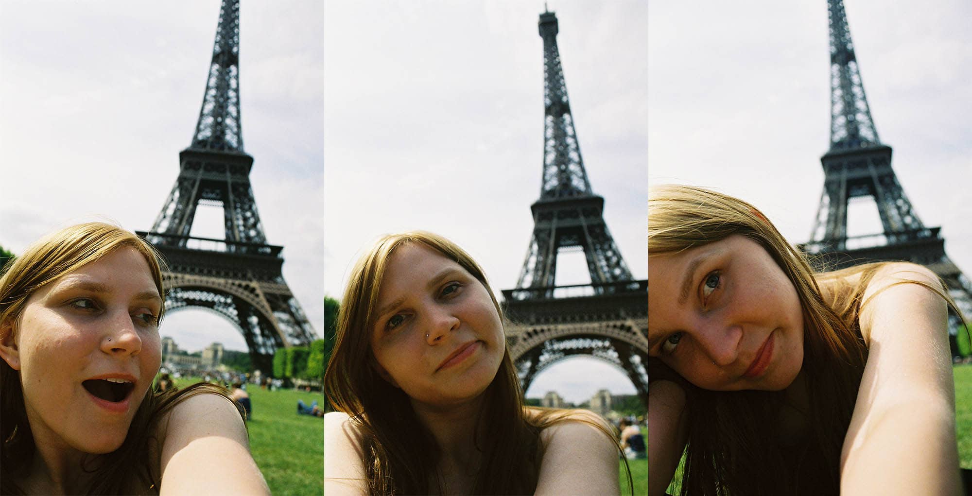 Val at the Eiffel Tower