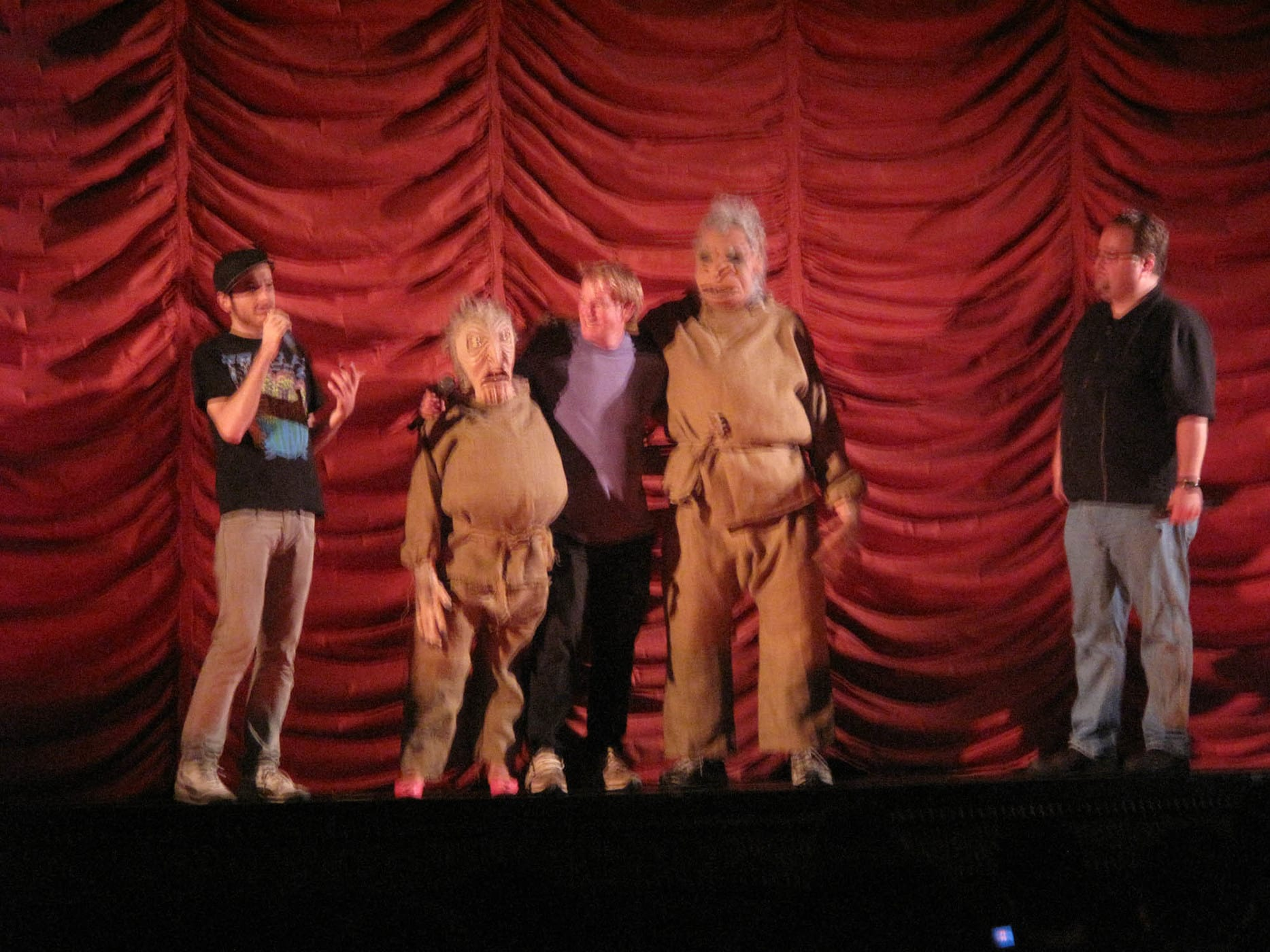 Troll 2 and Best Worst Movie screening at Music Box Theatre in Chicago, Illinois.
