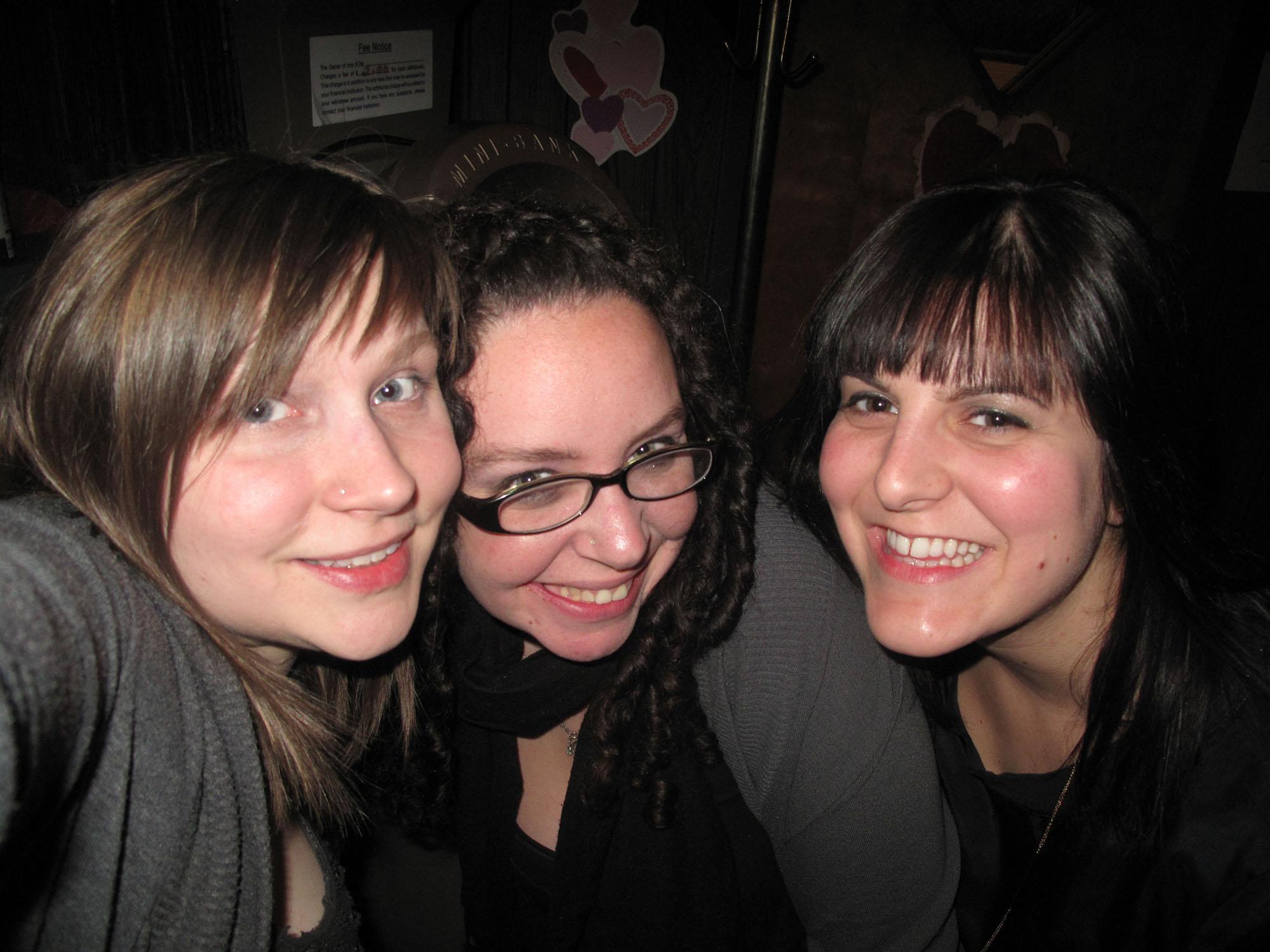 Heather's birthday bar crawl at Zakopane, Happy Village, and Innertown Pub