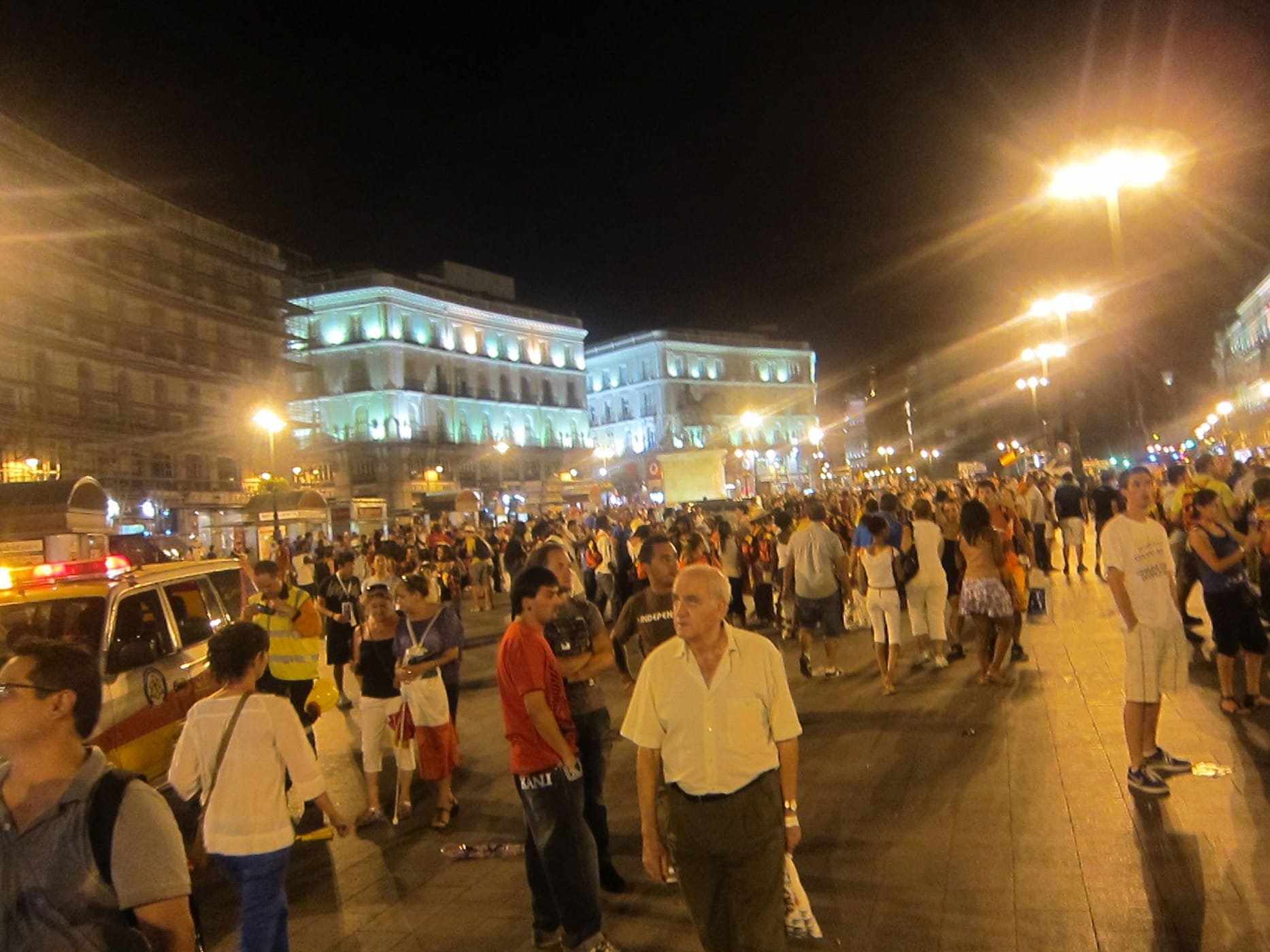 World Youth Day in Madrid, Spain