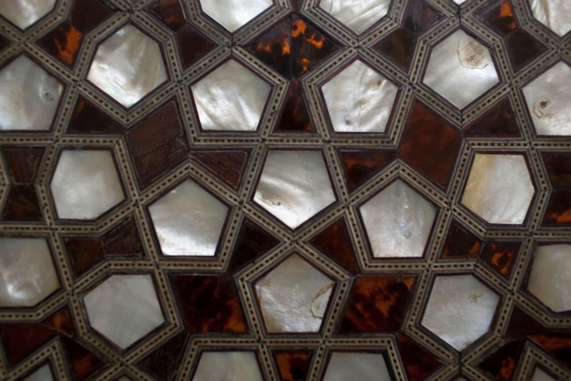 Mosaics and tile work in Topkapi Sarayi in Istanbul, Turkey.