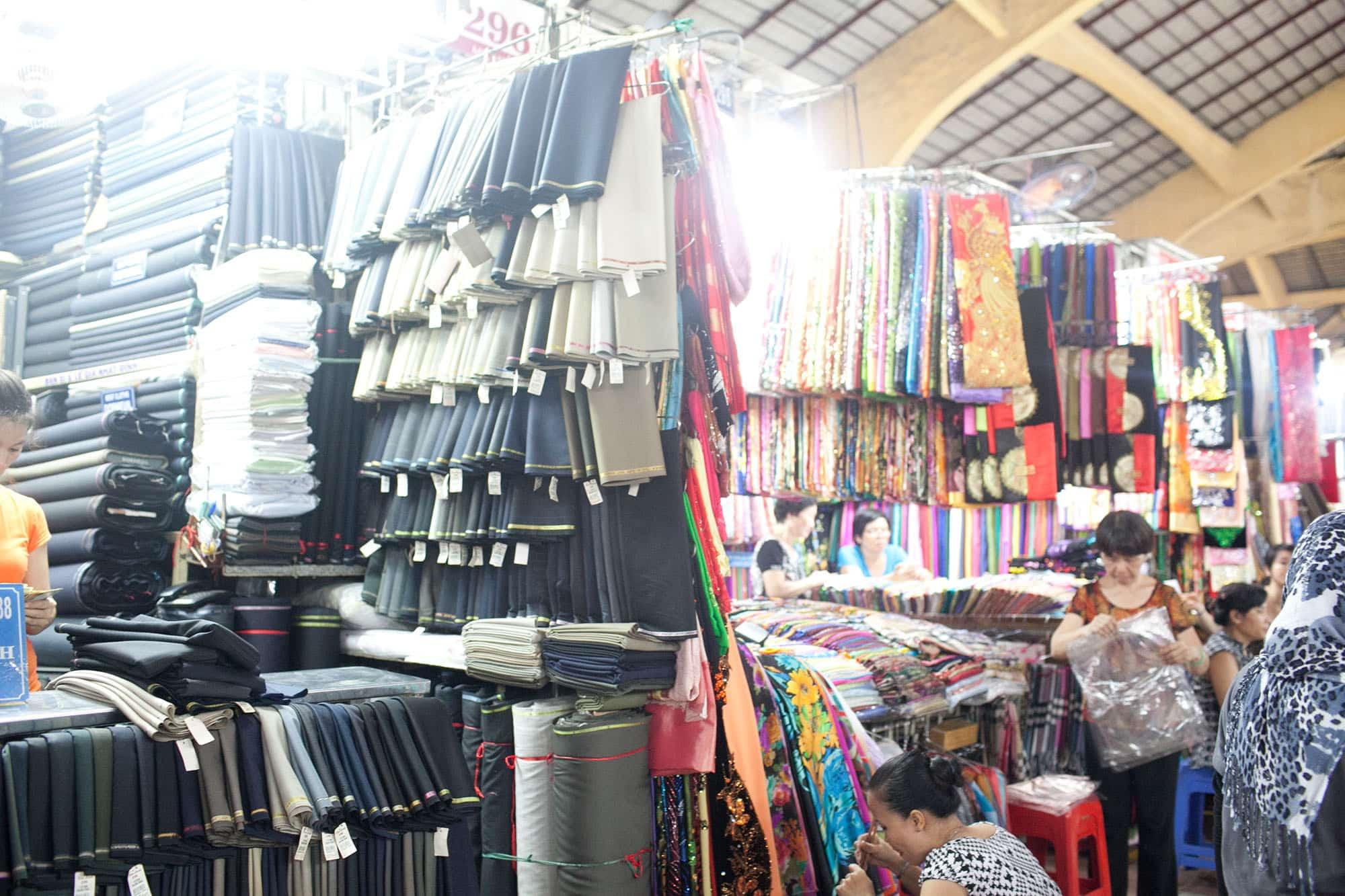 Market in Ho Chi Minh City, Vietnam.