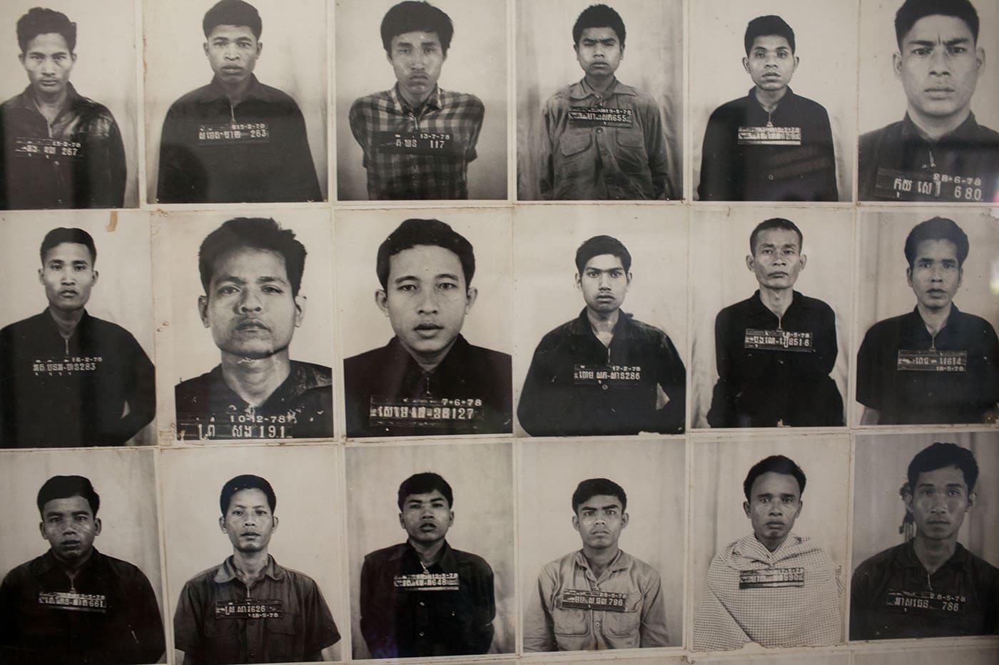 Genocide Museum & Killing Fields in Phnom Penh, Cambodia.