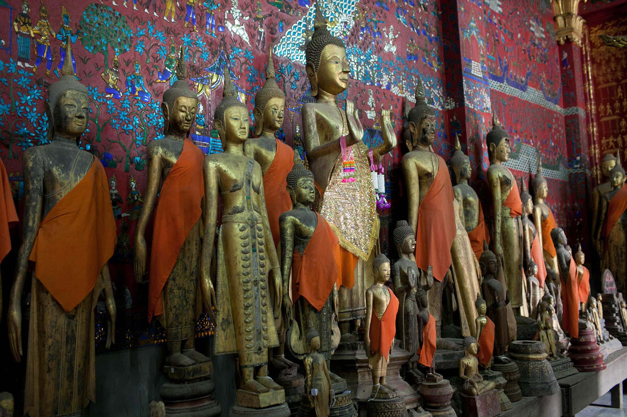 Temples in Luang Prabang, Laos