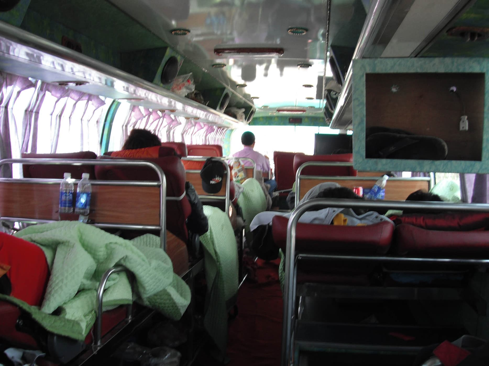 The 23-hour bus between Hanoi, Vietnam and Vientiane, Laos.