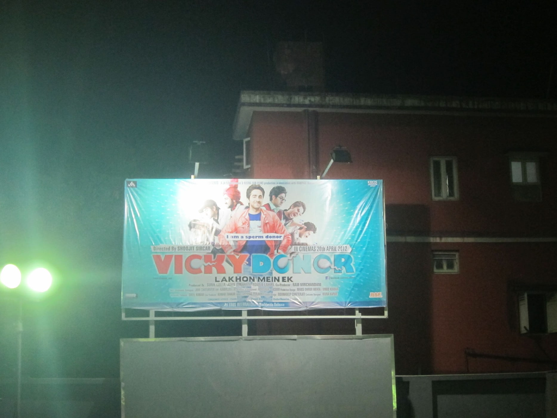 Vicky Donor in Kolkata (Calcutta)