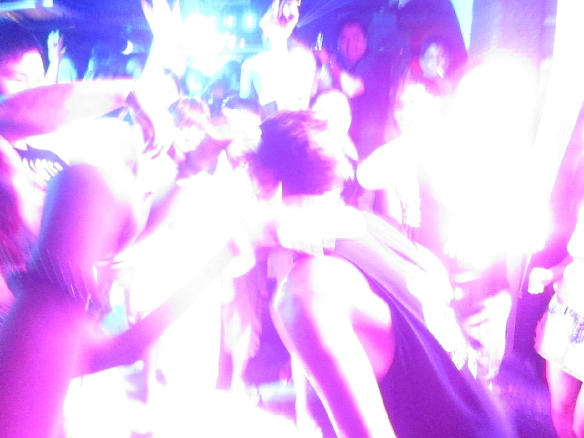 Clubbing in Boracay, The Philippines.