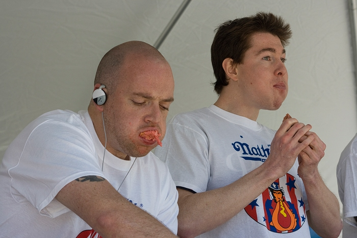 Chicago Hot Dog Eating Contest Qualifier