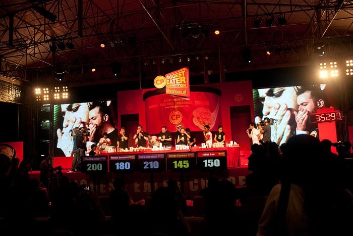 CP Biggest Eater Bangkok Finale