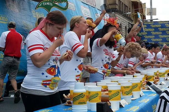 2014 Nathan's Famous July 4 Hot Dog Eating Contest