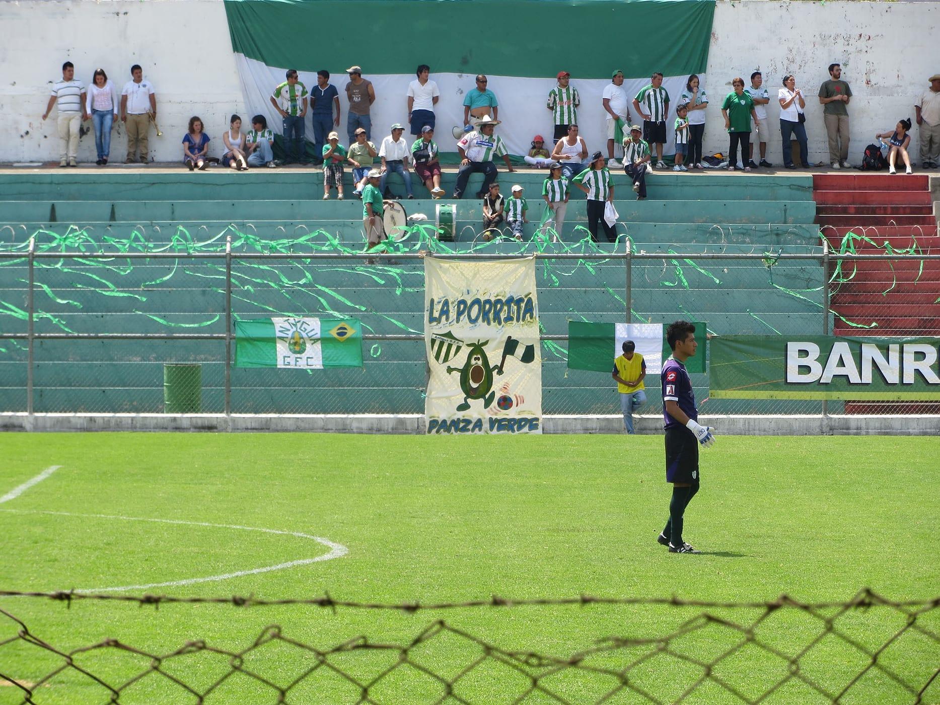 Football Match in Antigua, Guatemala