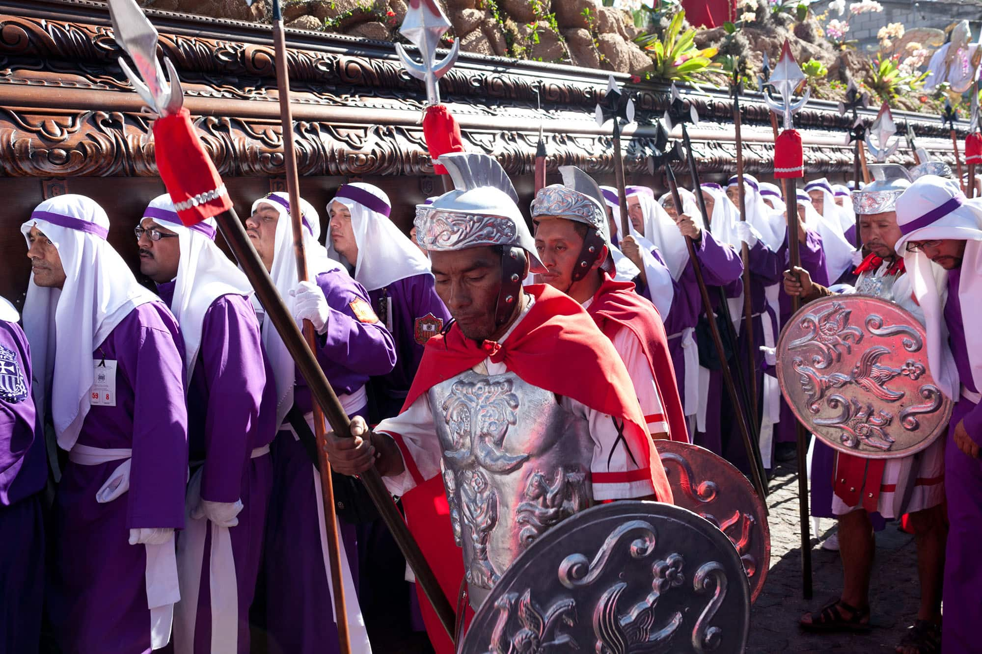 Semana Santa in Antigua, Guatemala