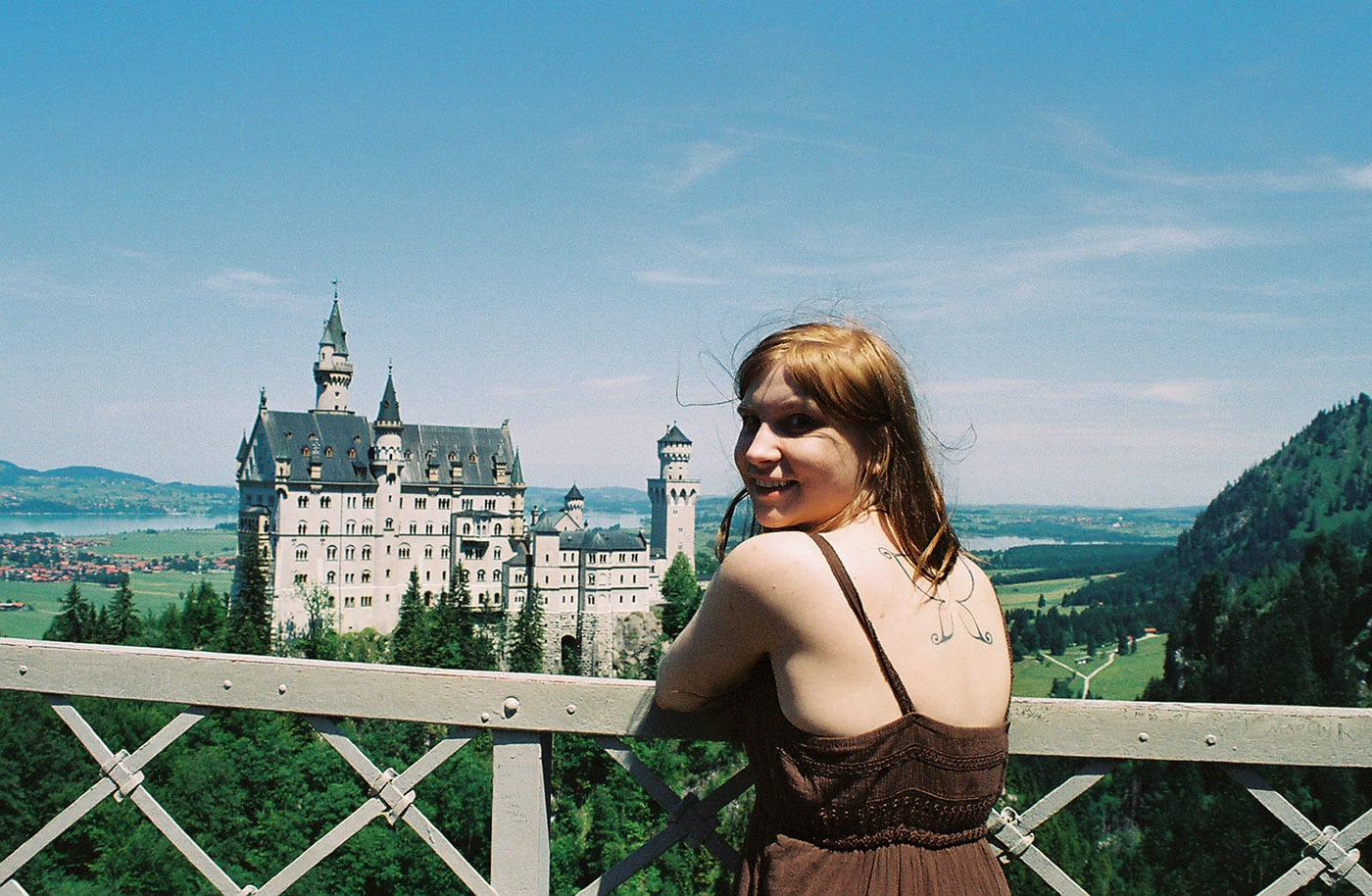 A fairy finds her castle – Neuschwanstein Castle in Munich, Germany