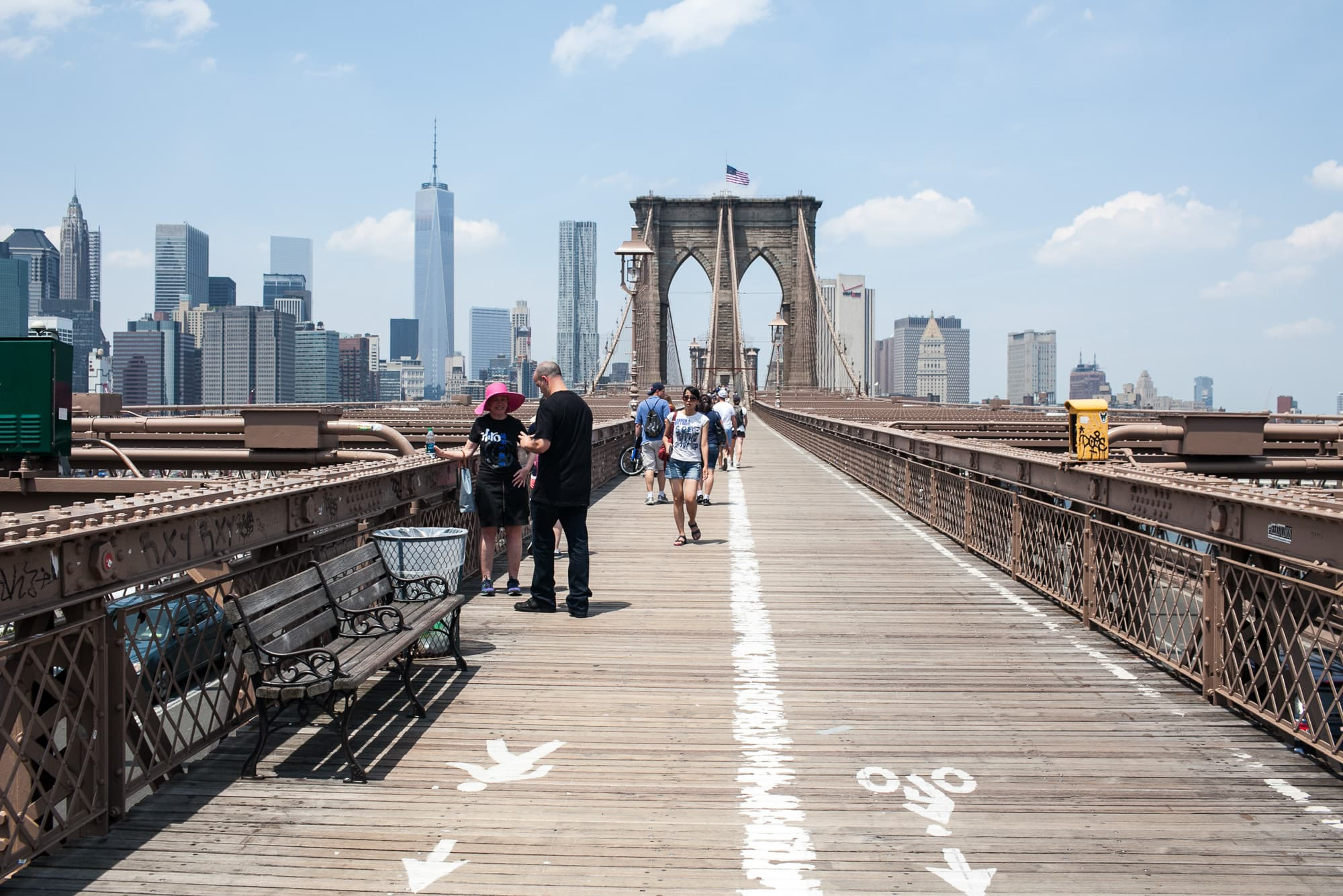 Life List: Walk cross the Brooklyn Bridge