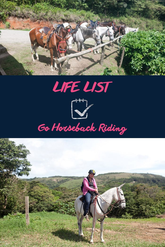 Life List: Go Horseback Riding