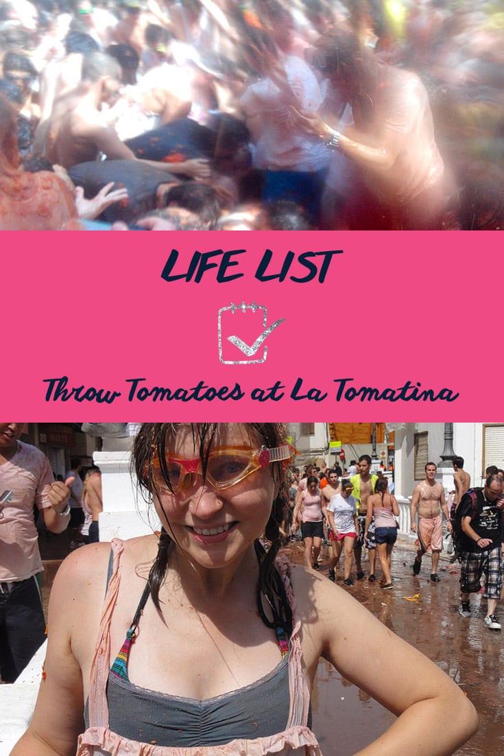 Life List: La Tomatina