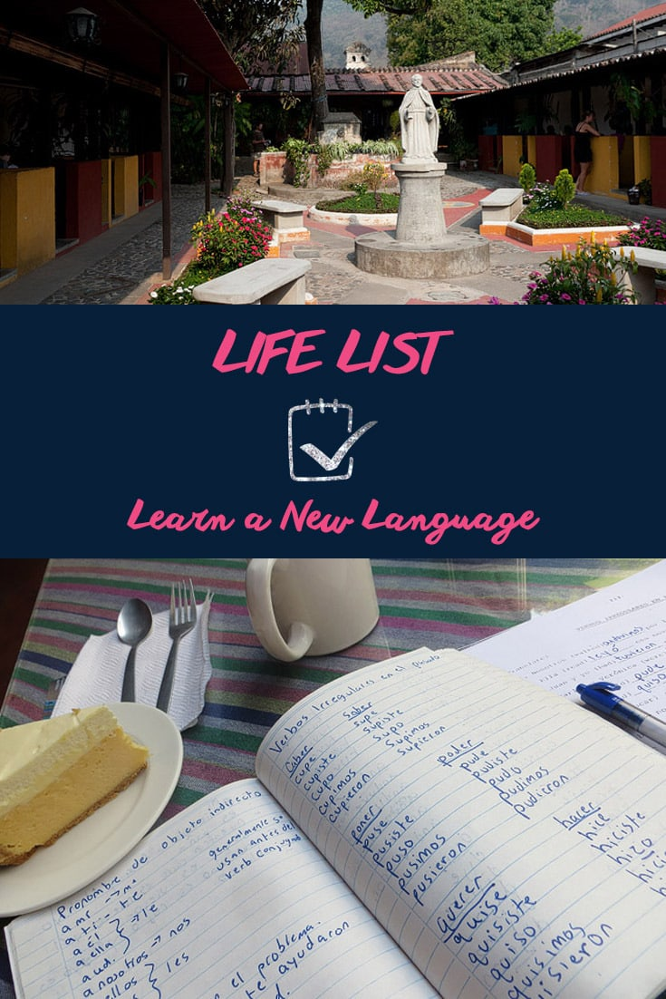 Life List: Learn a New Language