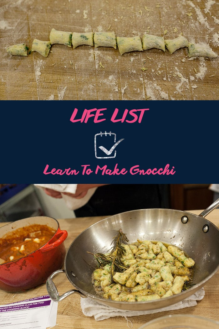 Life List: Learn To Make Gnocchi