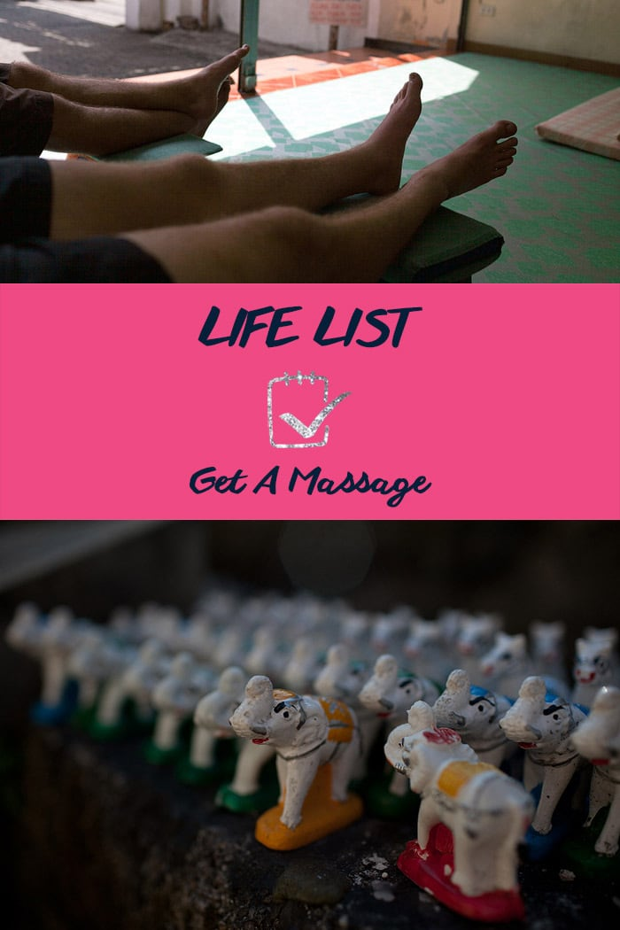 Life List: Get a Massage