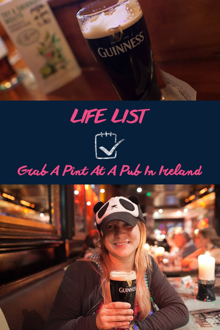 Life List: Grab A Pint At A Pub In Ireland