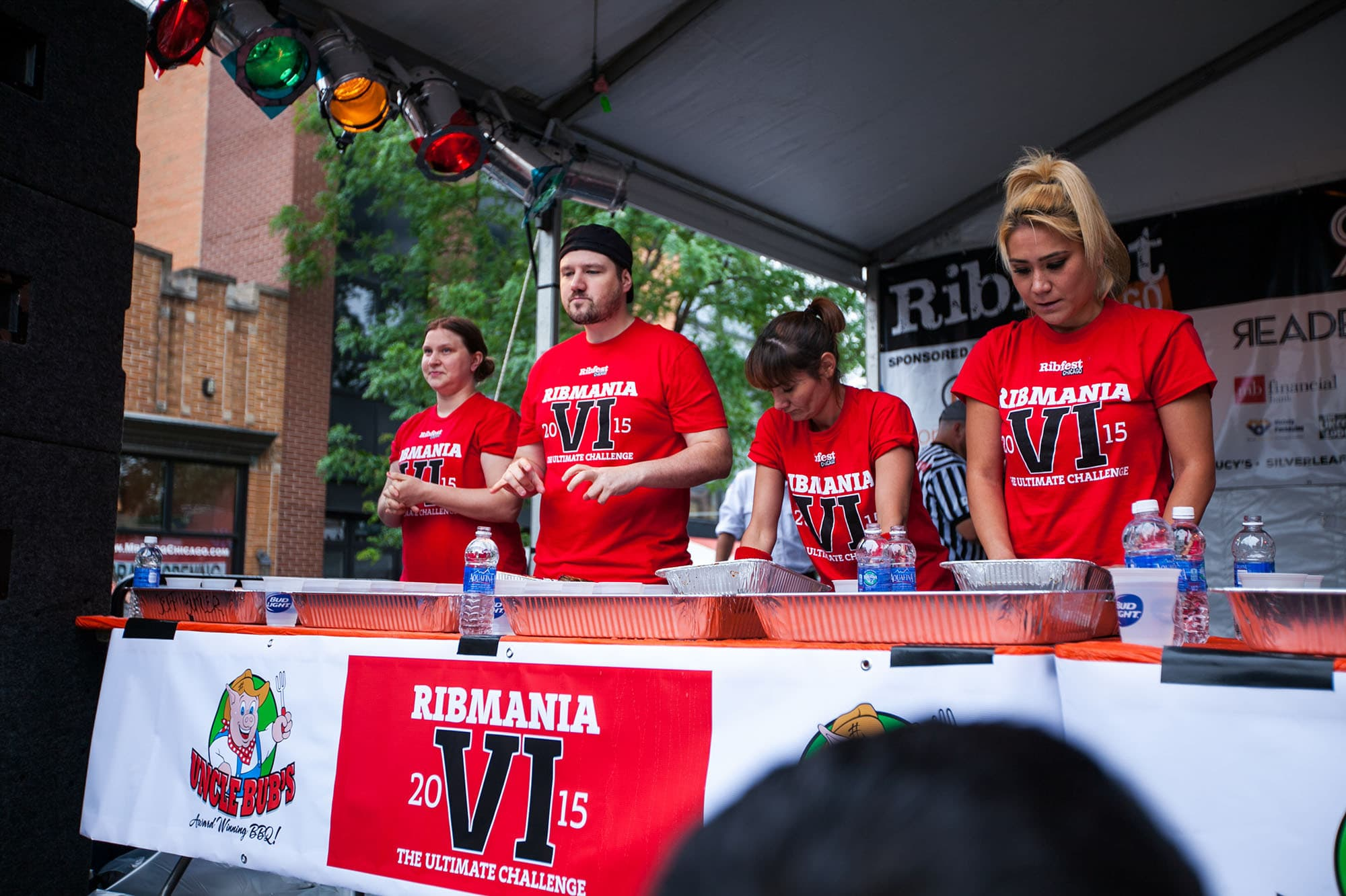 RibMania Ribs Eating Contest in Chicago