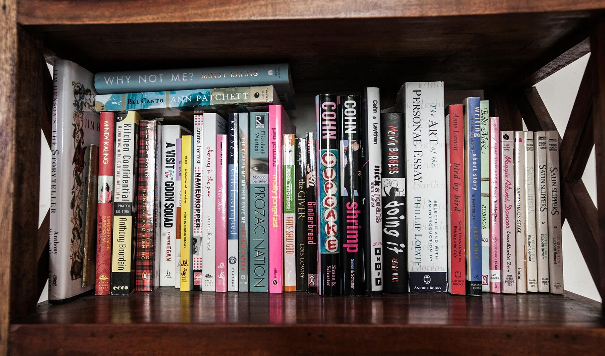 Every book on my bookshelf. - SHELF 2