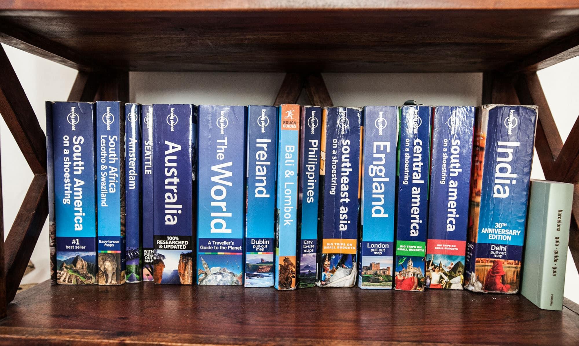 Every book on my bookshelf. - SHELF 3