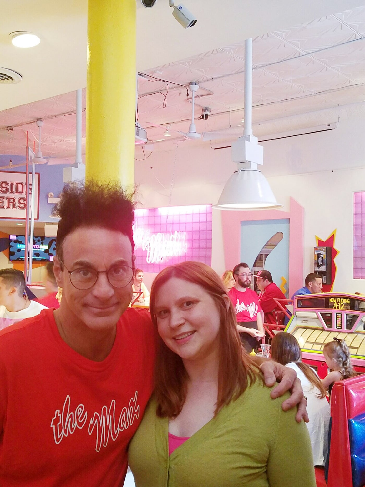 Me and Ed Alonzo (Max) at Saved by the Max