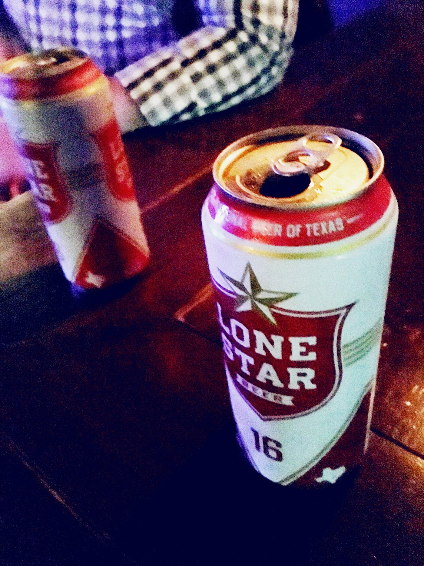 Lone Star Beer - the National Beer of Texas - at The Liberty in Austin, Texas.