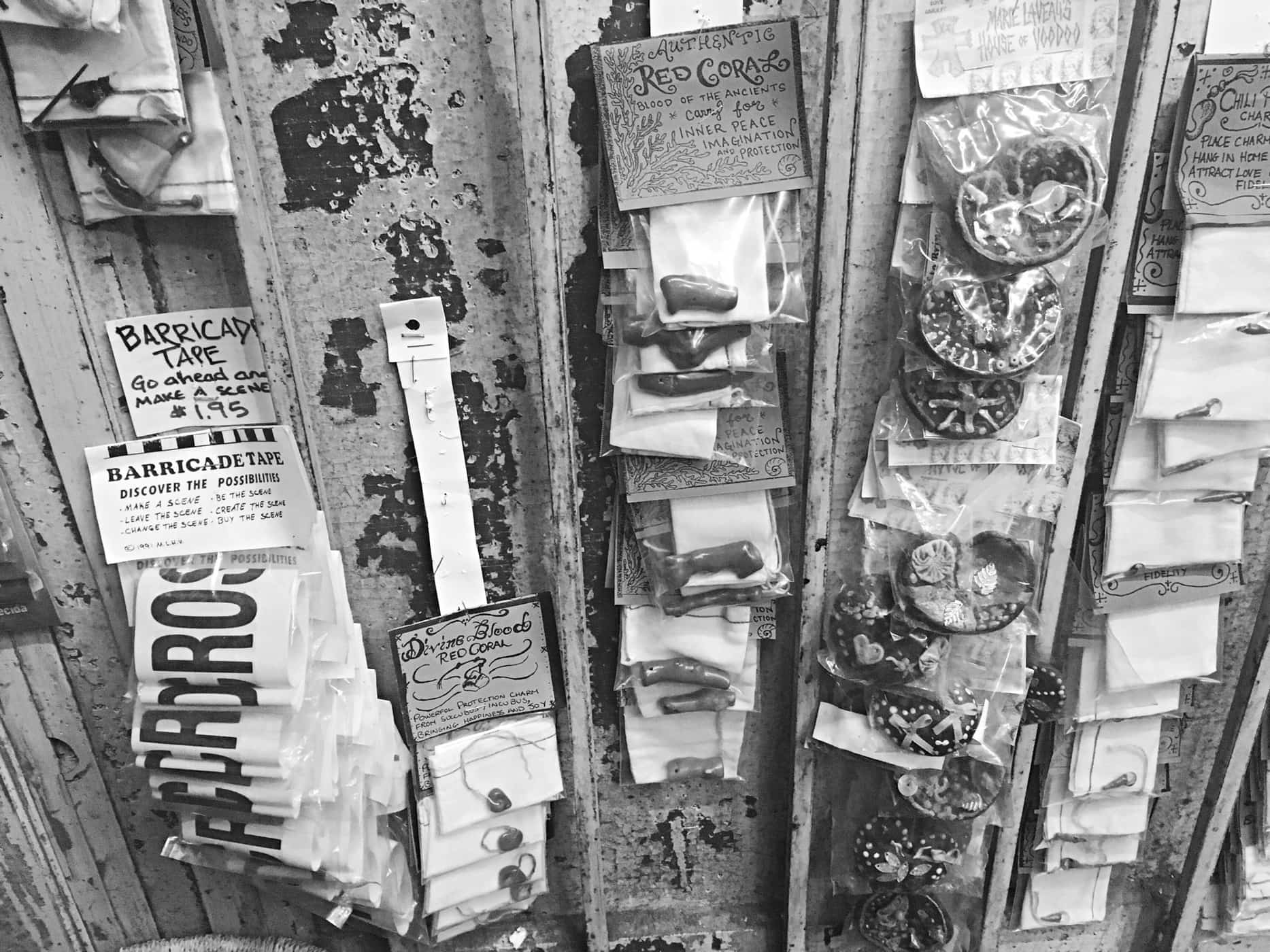 Voodoo shop in New Orleans.