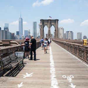Life List - #183 Walk across the Brooklyn Bridge.