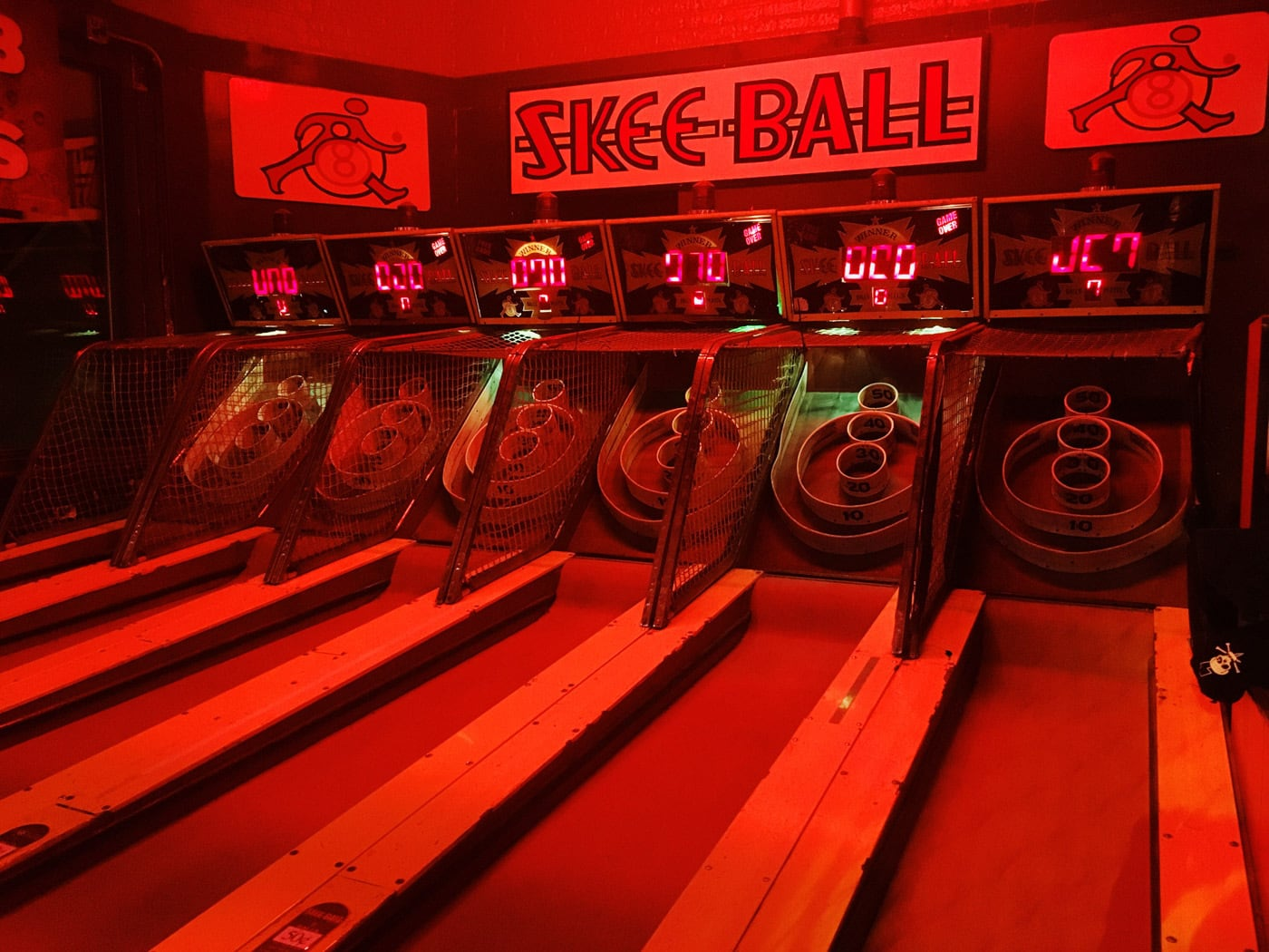 I joined a skee ball league.