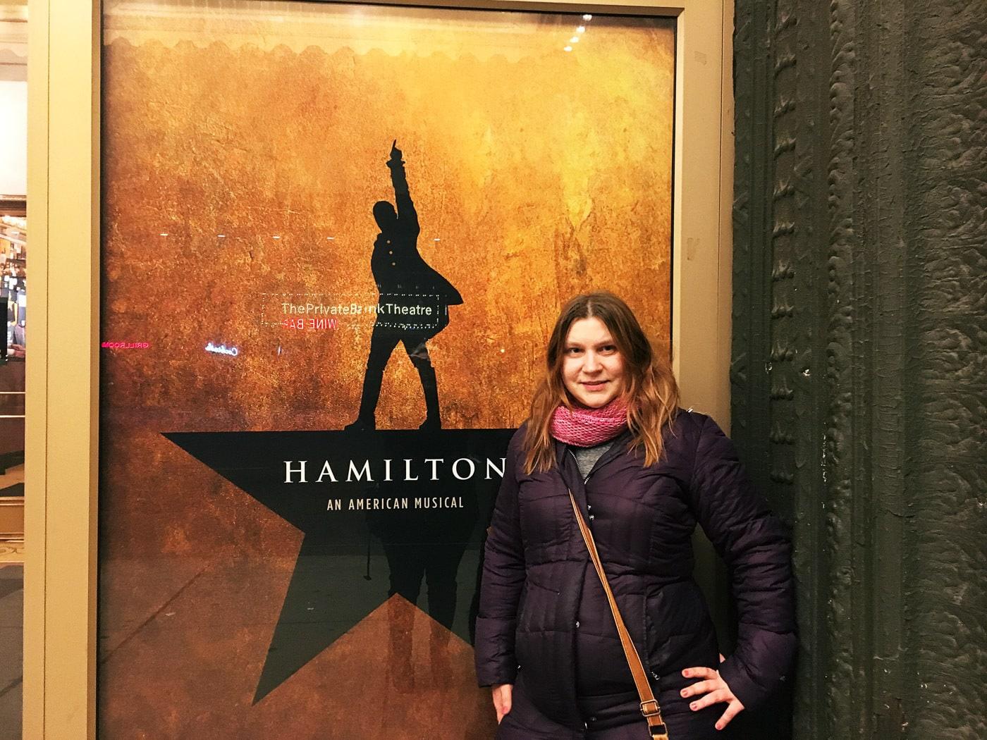 Life List: See Hamilton