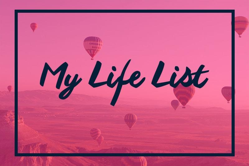 My Life List - Choosing Figs