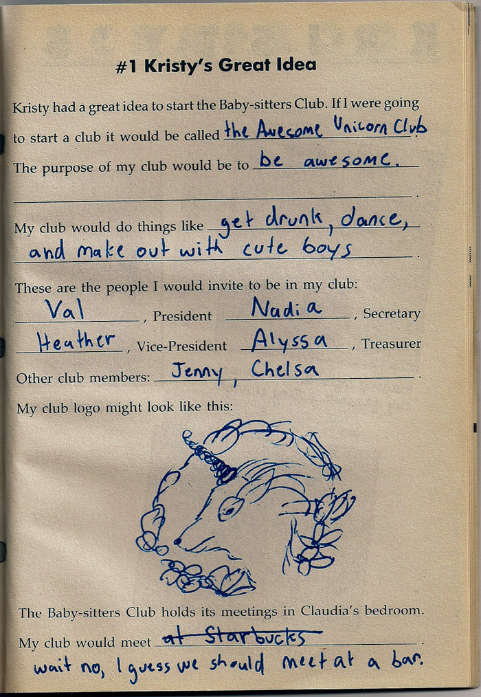 Baby-Sitters Club Book #1