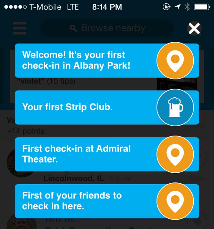 My first strip club!
