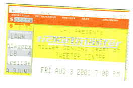 Matchbox Twenty concert ticket