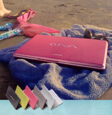 Sony Vaio Pink Laptop