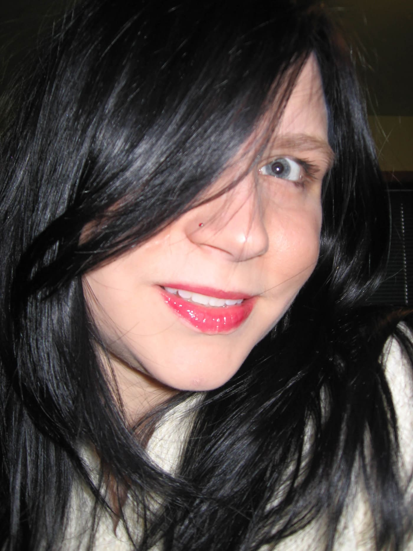 dying my hair black -0 my new hair color inspired by Snow White
