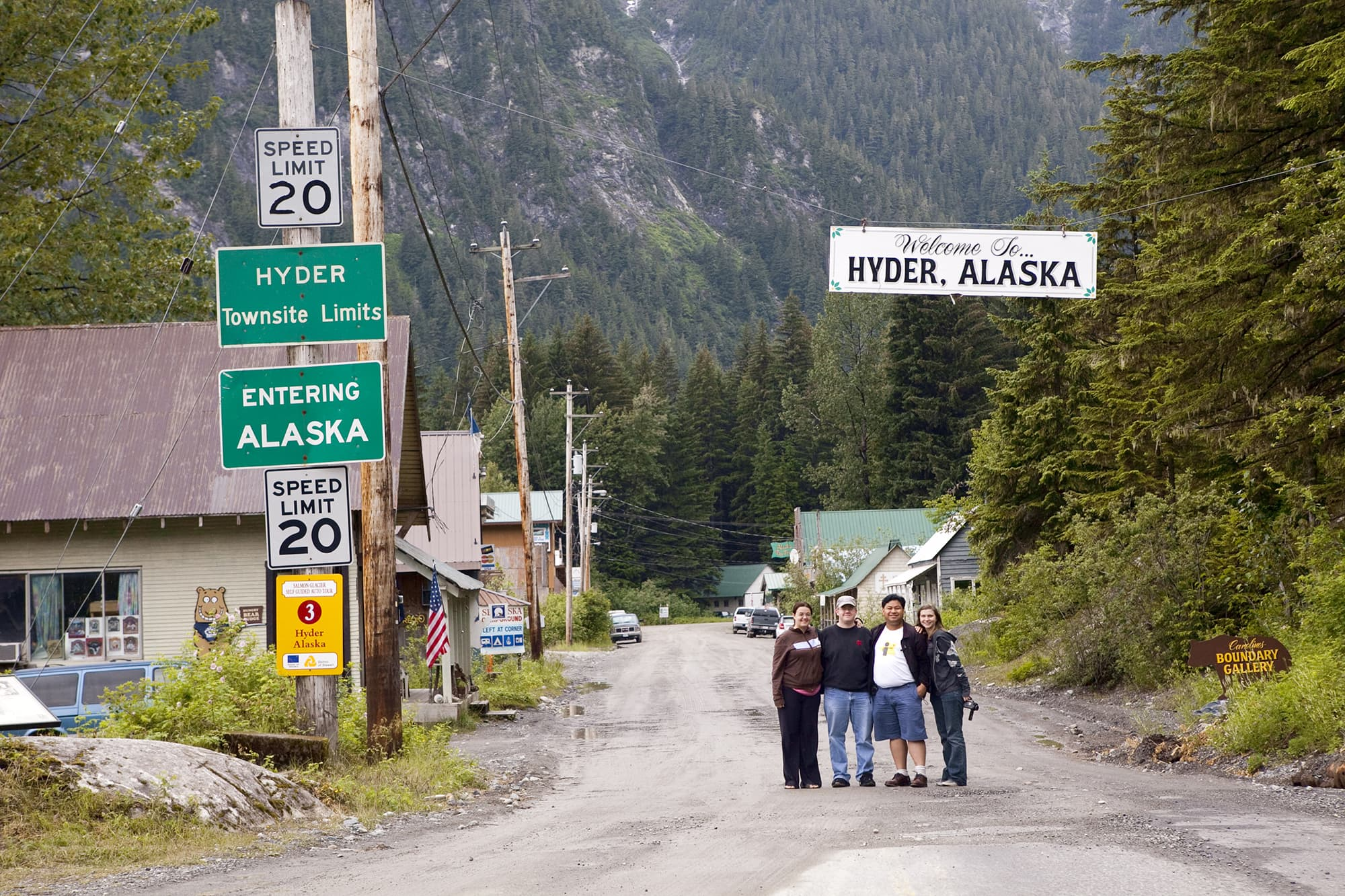 Welcome to Hyder, Alaska - Things to do in Hyder, Alaska.