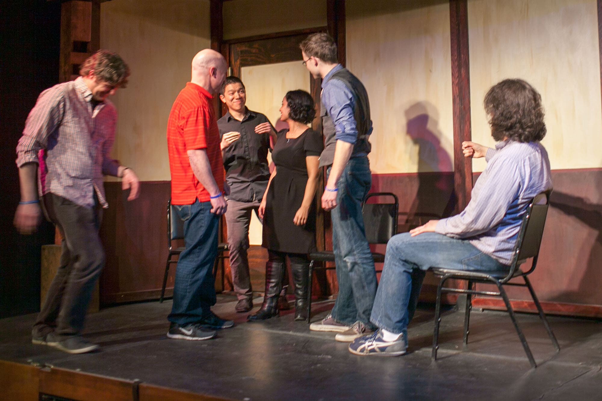 98.6 performing at the 17th annual Chicago Improv Festival