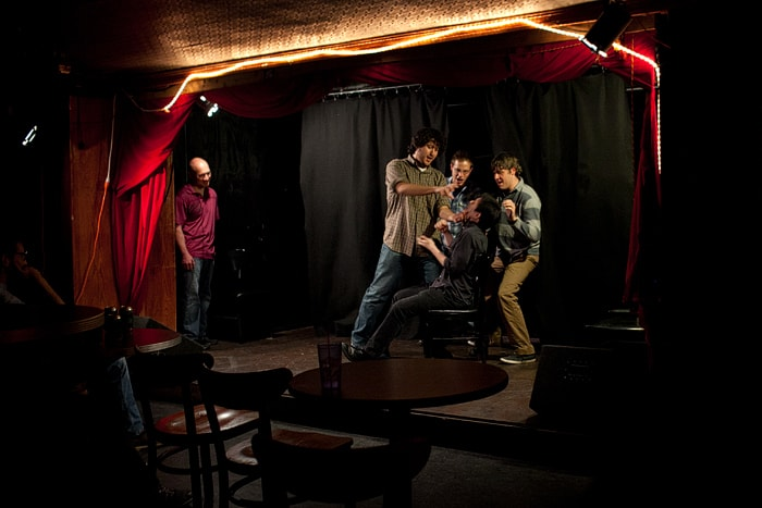 98.6 Free Improv Show at Underground Lounge in Chicago, Illinois