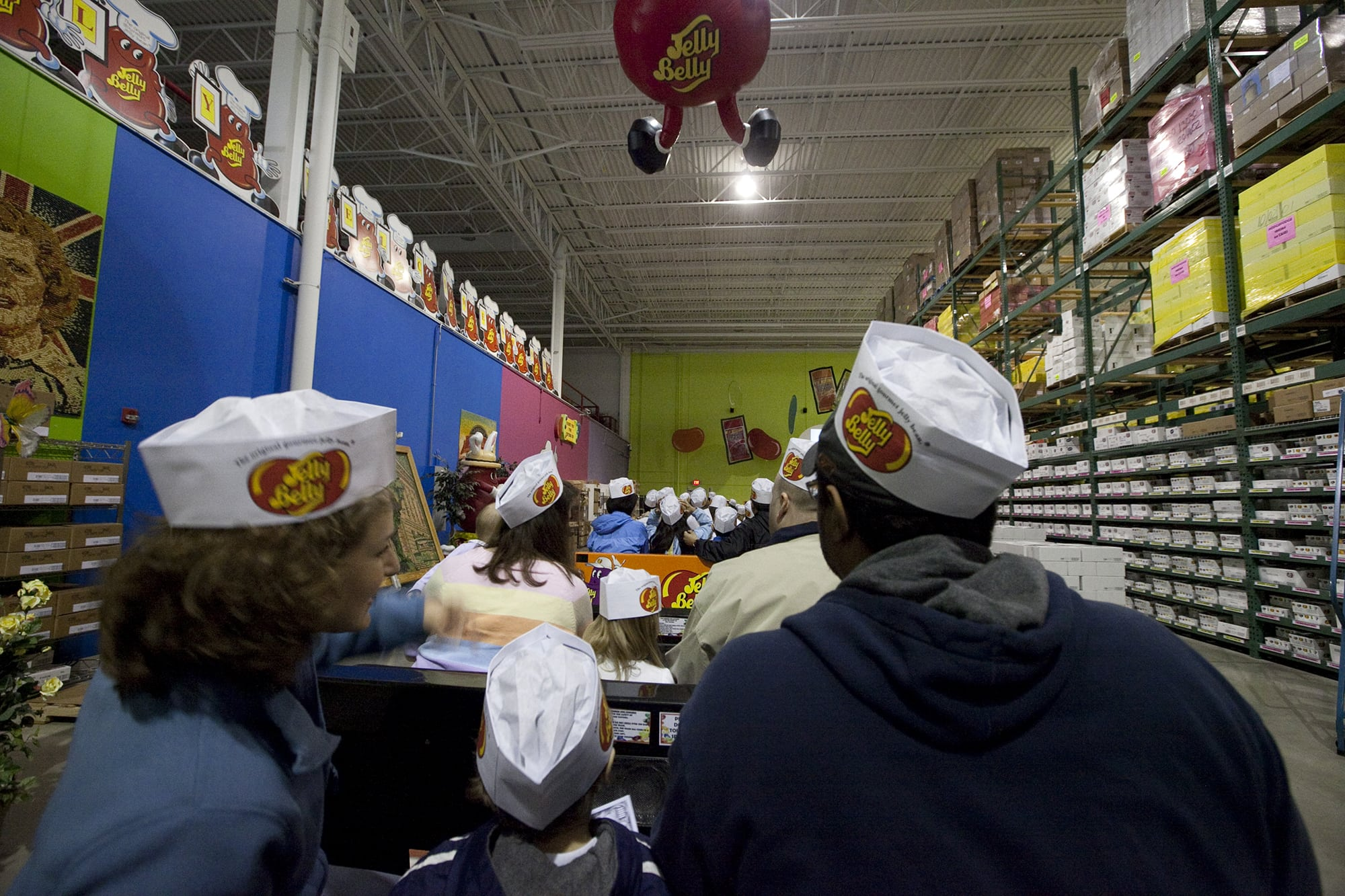 Jelly Belly Center Tour in Milwaukee, Wisconsin
