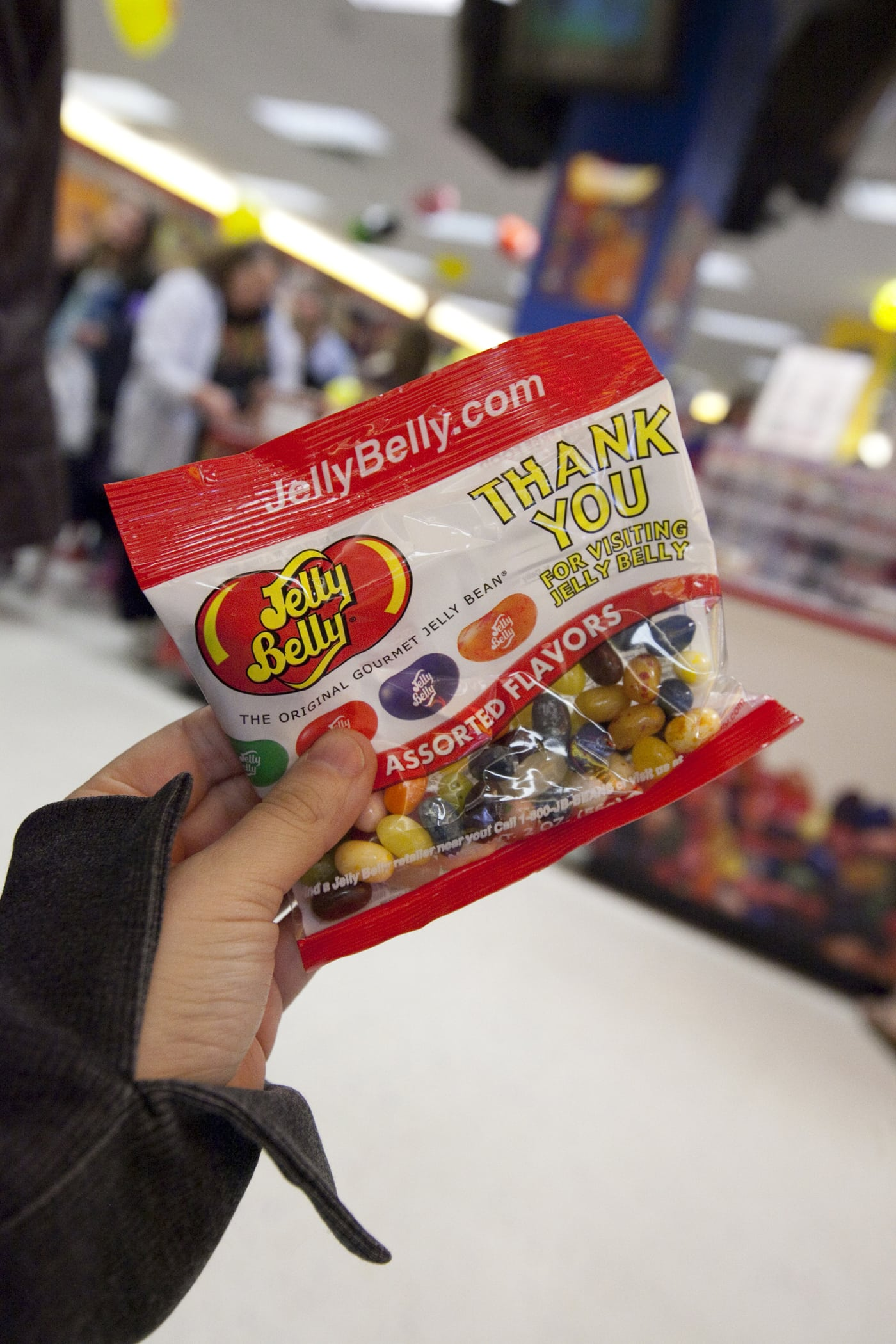 Free Jelly Bellys at the Jelly Belly Center Tour in Milwaukee, Wisconsin