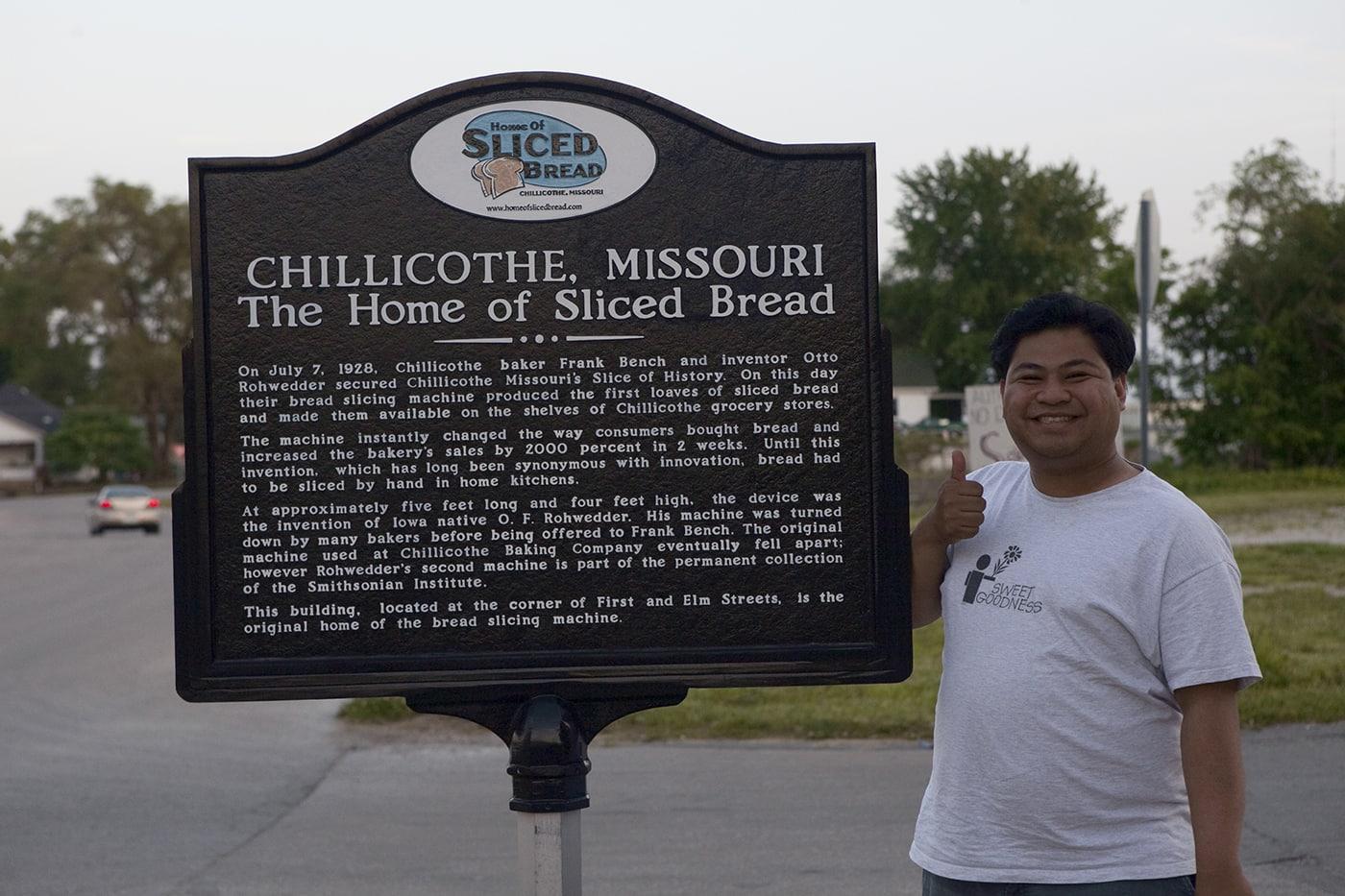 Chillicothe, Missouri - the home of sliced bread - Missouri Road Trip