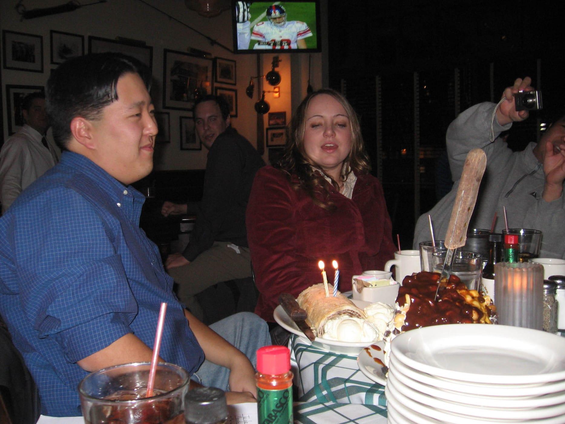 Andy's birthday cake.  - Happy birthday Andy!
