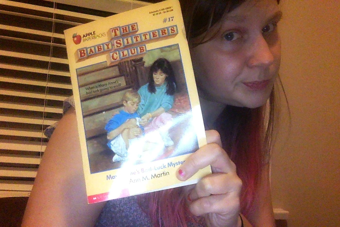 Baby-Sitters Club #17: Mary-Anne's Bad-Luck Mystery
