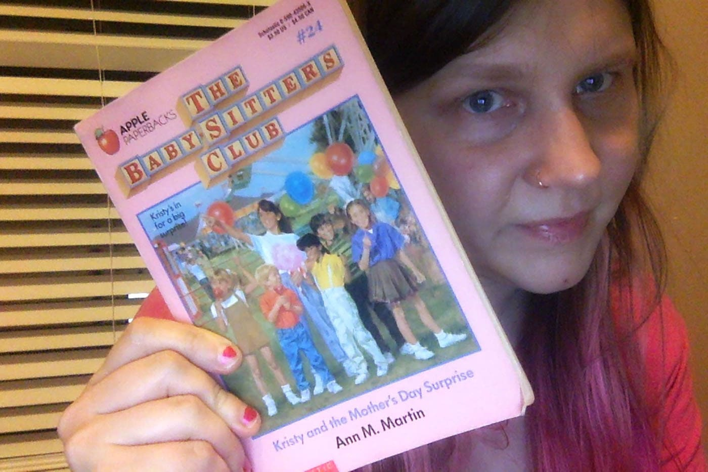 The Baby-Sitters Club #24: Kristy and the Mother's Day Surprise