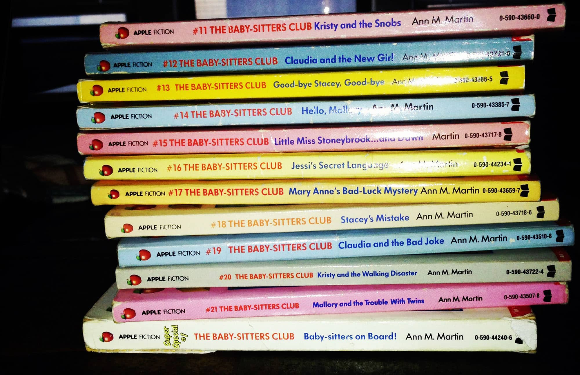 So many Baby-Sitters Club books to recap!